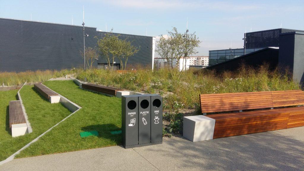 Galeria Północna- zielony dach użytkowy